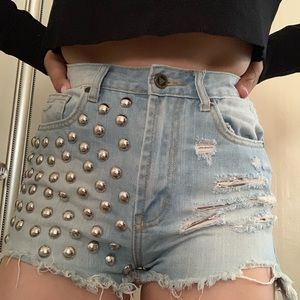 UNIF Shorts - 2 PAIRS OF UNIF JEAN SHORTS